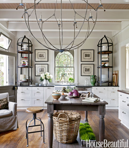French Kitchen Decorating Ideas - French Country Kitchen Design - french kitchen design