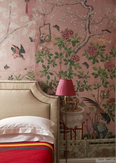 Chinoiserie Wallpaper - Handpainted Wallpaper