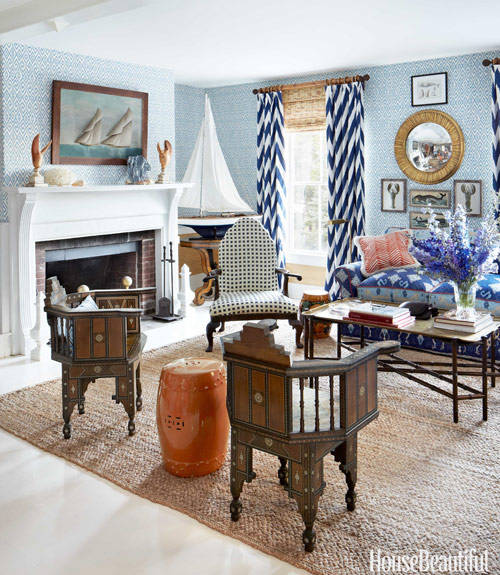 Country Decorating New England - nautical bedroom ideas