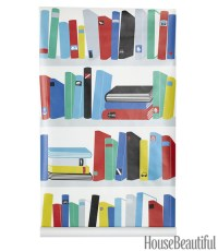 Book Wallpaper - Bookcase Wallpaper Designs