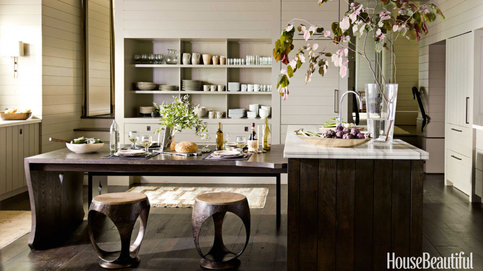 33 Best Kitchen Tables - Modern Ideas for Kitchen Tables - how to design kitchen