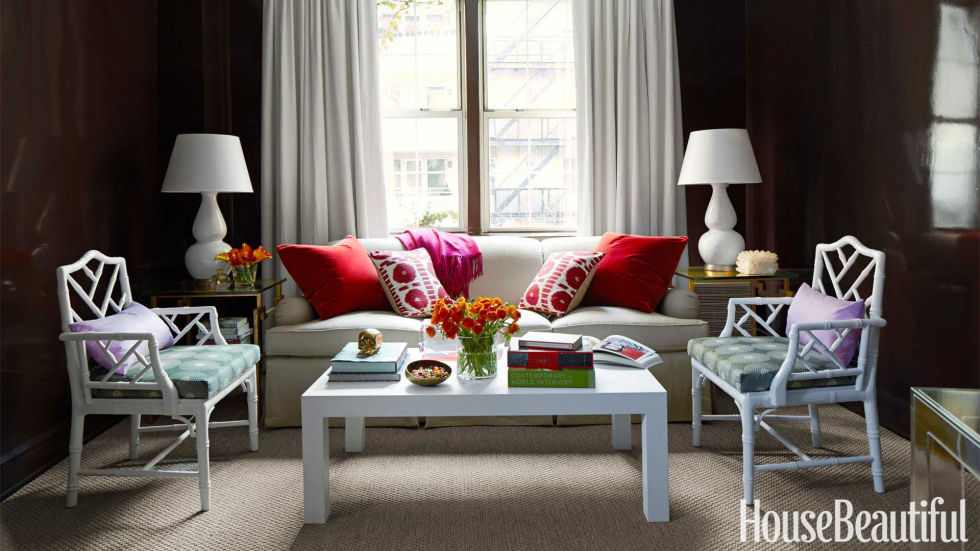 11 Small Living Room Decorating Ideas - How to Arrange a Small - decorating small living room