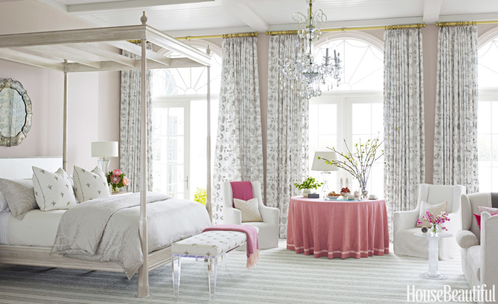 60 Best Spring Decorating Ideas - Spring Home Decor Inspiration - home decor bedroom