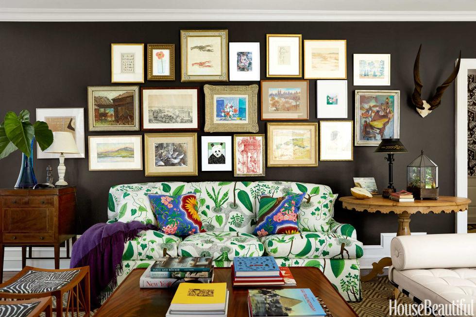 12 Best Living Room Color Ideas - Paint Colors for Living Rooms - paint schemes for living rooms