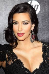 Kim Kardashian Wedding Hair Ideas
