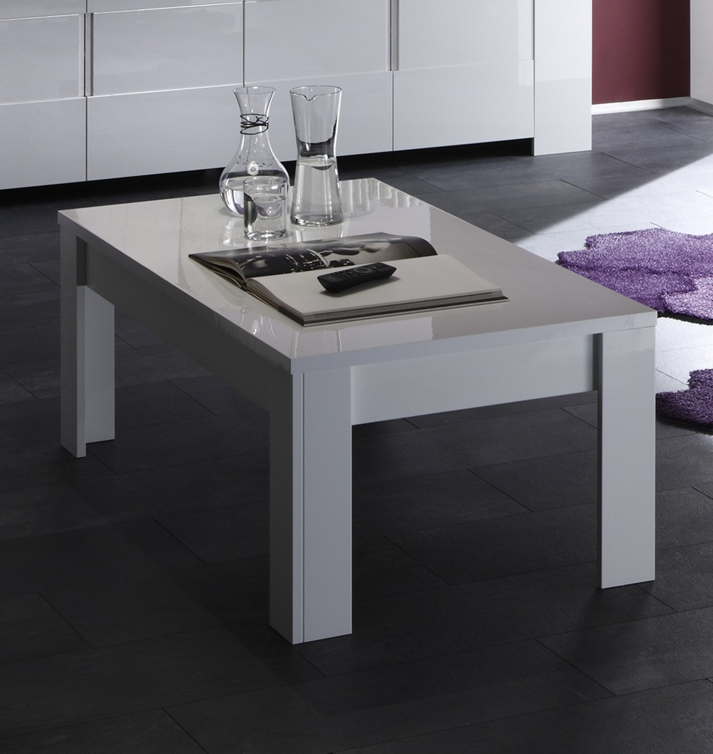 Table Basse Design Blanche Table Basse Design Blanche Laquée Elios