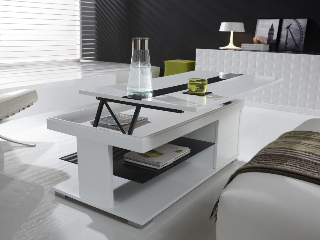 Table De Salon Noir Table Basse Relevable Dolce Zd1 Tbas R D 002 Jpg