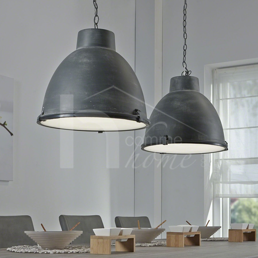 Lampe Suspension Style Industriel Luminaire Suspension Design En Métal Gracia