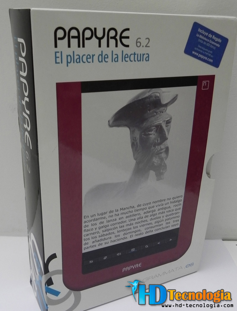 Descargar Libros En Papyre Review Ebook Grammata Papyre 6 2 Hd Tecnología