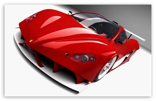 Wallpaper Mobil Sport 3d 3d Ferrari Aurea Car 4k Hd Desktop Wallpaper For 4k Ultra
