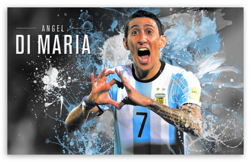 Argentina Football Wallpaper Hd Angel Di Maria Argentina 2016 4k Hd Desktop Wallpaper