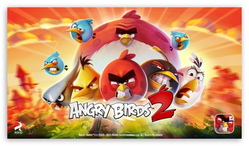 Hd Fall Wallpapers 1080p Angry Birds 2 The Flock 4k Hd Desktop Wallpaper For 4k