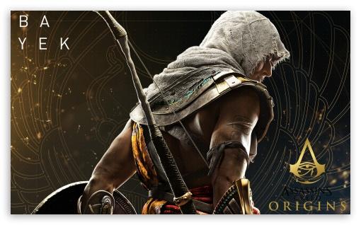 Assassins Creed Wallpaper Hd 1080p Assassin S Creed Origins Bayek 4k Hd Desktop Wallpaper For