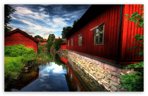 Wallpaper Hd 480x800 3d Beautiful Village 4k Hd Desktop Wallpaper For 4k Ultra Hd