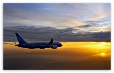 Boeing 787 Aerial 4K HD Desktop Wallpaper for 4K Ultra HD TV • Dual Monitor Desktops • Tablet ...