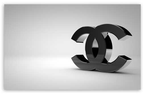 3d Wallpaper For Iphone 3gs Chanel Logo Shiny Black 4k Hd Desktop Wallpaper For 4k