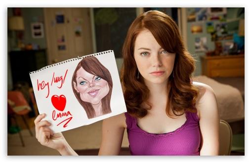 Iphone 5 Wallpaper Gossip Girl Emma Stone Easy A Movie 4k Hd Desktop Wallpaper For 4k