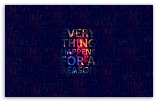 Fb Cover Hd Wallpaper Everything Happens For A Reason 4k Hd Desktop Wallpaper