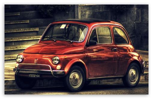 800x480 Car Wallpapers Fiat 500 Vintage Hdr 4k Hd Desktop Wallpaper For 4k Ultra