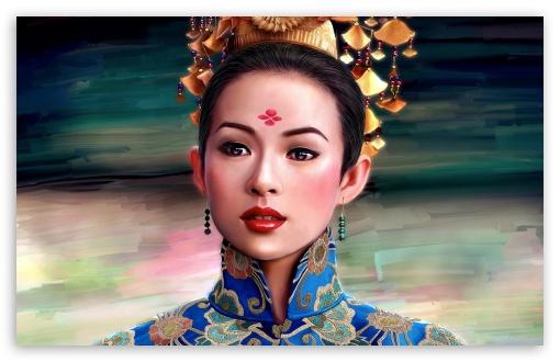 Beautiful Girl Hd Wallpapers 1080p Download Geisha Painting 4k Hd Desktop Wallpaper For 4k Ultra Hd Tv