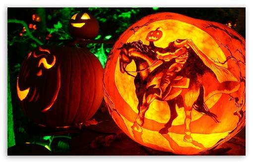 Fall Pumpkin Wallpaper Hd Headless Horseman Jack O Lantern 4k Hd Desktop Wallpaper