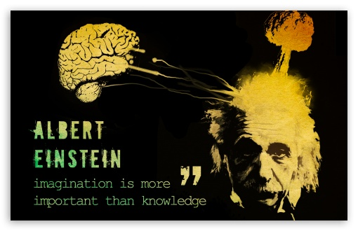 Best Quotes Hd Wallpapers For Mobile Imagination Is More Important Than Knowledge 4k Hd Desktop