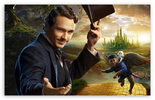 1920x1080 Wallpaper Girl James Franco As Oscar Diggs Oz The Great And Powerful
