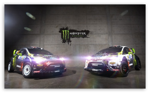 Hoonigan Cars Wallpaper Ken Block Monster Energy Ford Fiesta Wrc 4k Hd Desktop