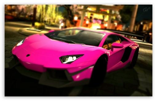 Ipod 5 Car Wallpapers Lamborghini Aventador Lp700 4 Pink Passionate 4k Hd