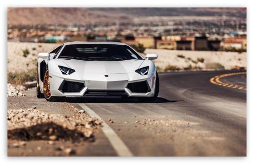 Wallpaper Super Cars Download Lamborghini Avendator Roadside 4k Hd Desktop Wallpaper For
