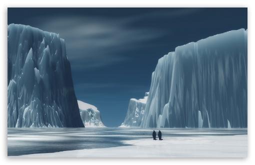 Wallpaper Smartphone 3d Penguins In Antarctica 4k Hd Desktop Wallpaper For 4k