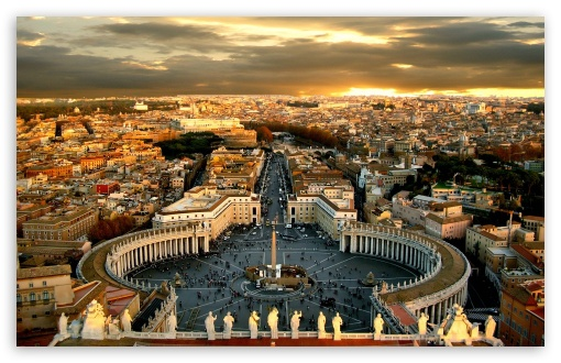 Golden Wallpaper Hd For Mobile Piazza San Pietro 4k Hd Desktop Wallpaper For 4k Ultra Hd