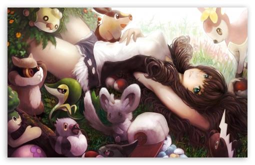 Hd Pokemon Trainer Girl Wallpaper Pokemon Touko 4k Hd Desktop Wallpaper For 4k Ultra Hd Tv