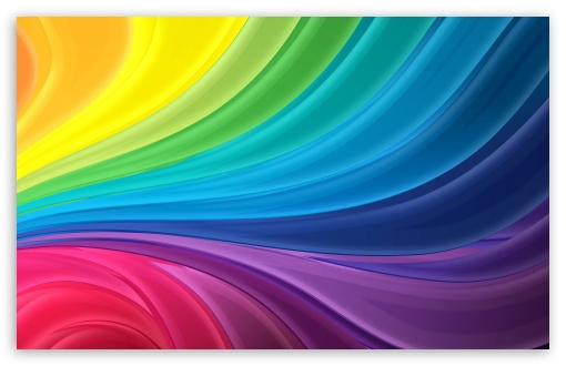 Free 3d Wallpapers Mobile Phones Rainbow Waves 4k Hd Desktop Wallpaper For Wide Amp Ultra