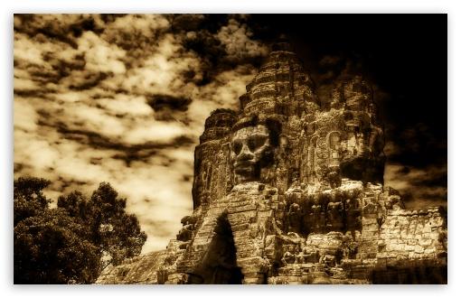 3d Touch Wallpaper Download The Buddha King Of Angkor Wat Cambodia 4k Hd Desktop
