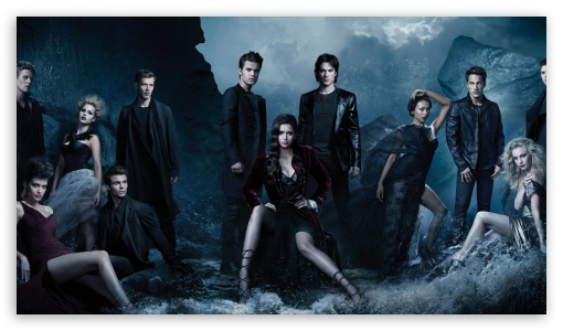Vampire Diaries Hd Wallpapers 1366x768 The Vampire Diaries 4k Hd Desktop Wallpaper For Wide