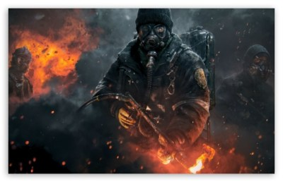 Tom Clancy's The Division 4K HD Desktop Wallpaper for 4K Ultra HD TV • Wide & Ultra Widescreen ...