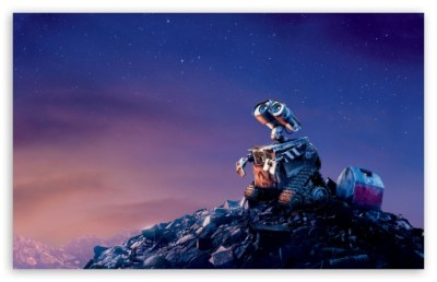 Wall-E 4K HD Desktop Wallpaper for 4K Ultra HD TV • Wide & Ultra Widescreen Displays • Dual ...