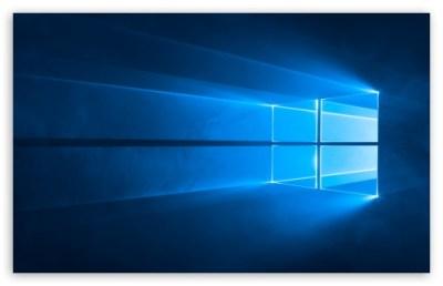 Windows 10 Hero 4K 4K HD Desktop Wallpaper for • Wide & Ultra Widescreen Displays • Dual Monitor ...