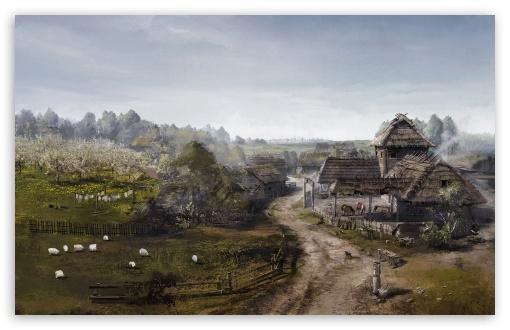 Desktop Wallpaper Fall Out Witcher 3 Wild Hunt Concept Art 4k Hd Desktop Wallpaper For
