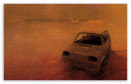 Ipod 5 Car Wallpapers Zdzislaw Beksinski Stranded 4k Hd Desktop Wallpaper For 4k