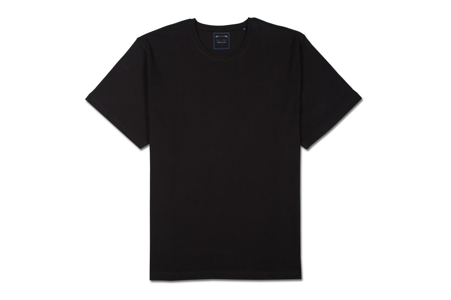 Mockup Polo Nera Plain Black T Shirt 32 Free Hd Wallpaper