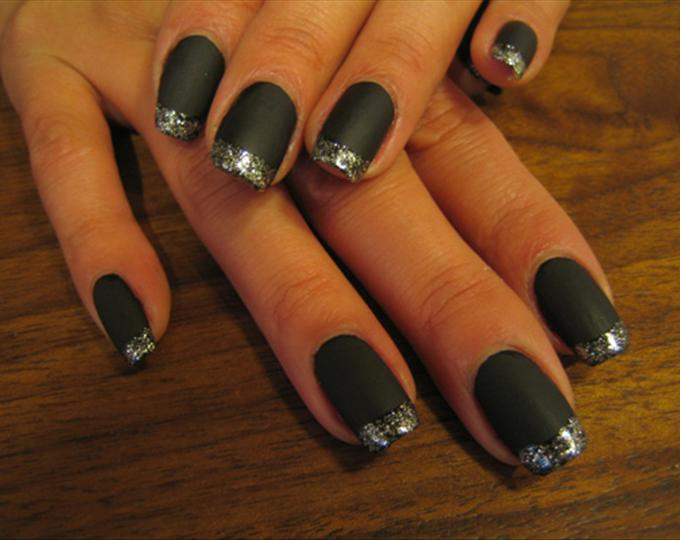 Black And Silver Nails 16 Cool Wallpaper