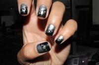 Black And Silver Nails 27 Hd Wallpaper - Hdblackwallpaper.com