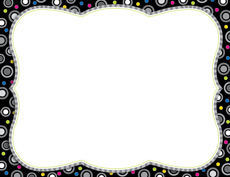 Black And White Wallpaper Border 7 Free Hd Wallpaper - black border background