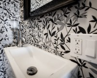 Black And White Wallpaper For Bathroom 34 Wide Wallpaper ...