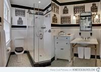 Black And White Wallpaper For Bathroom 27 Hd Wallpaper ...