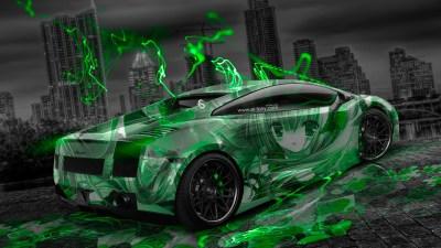 Green And Black Lamborghini 20 Desktop Wallpaper - Hdblackwallpaper.com