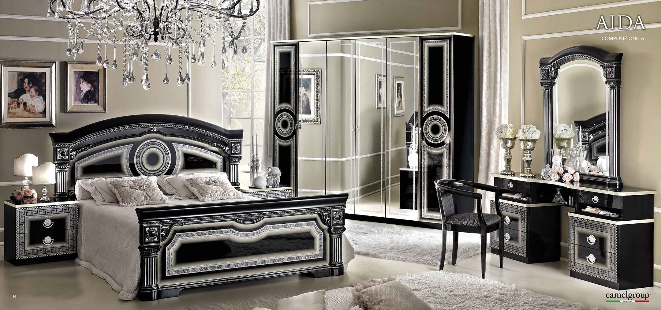 Black And Silver Bed Black And Silver Bedroom Set 2 Desktop Wallpaper