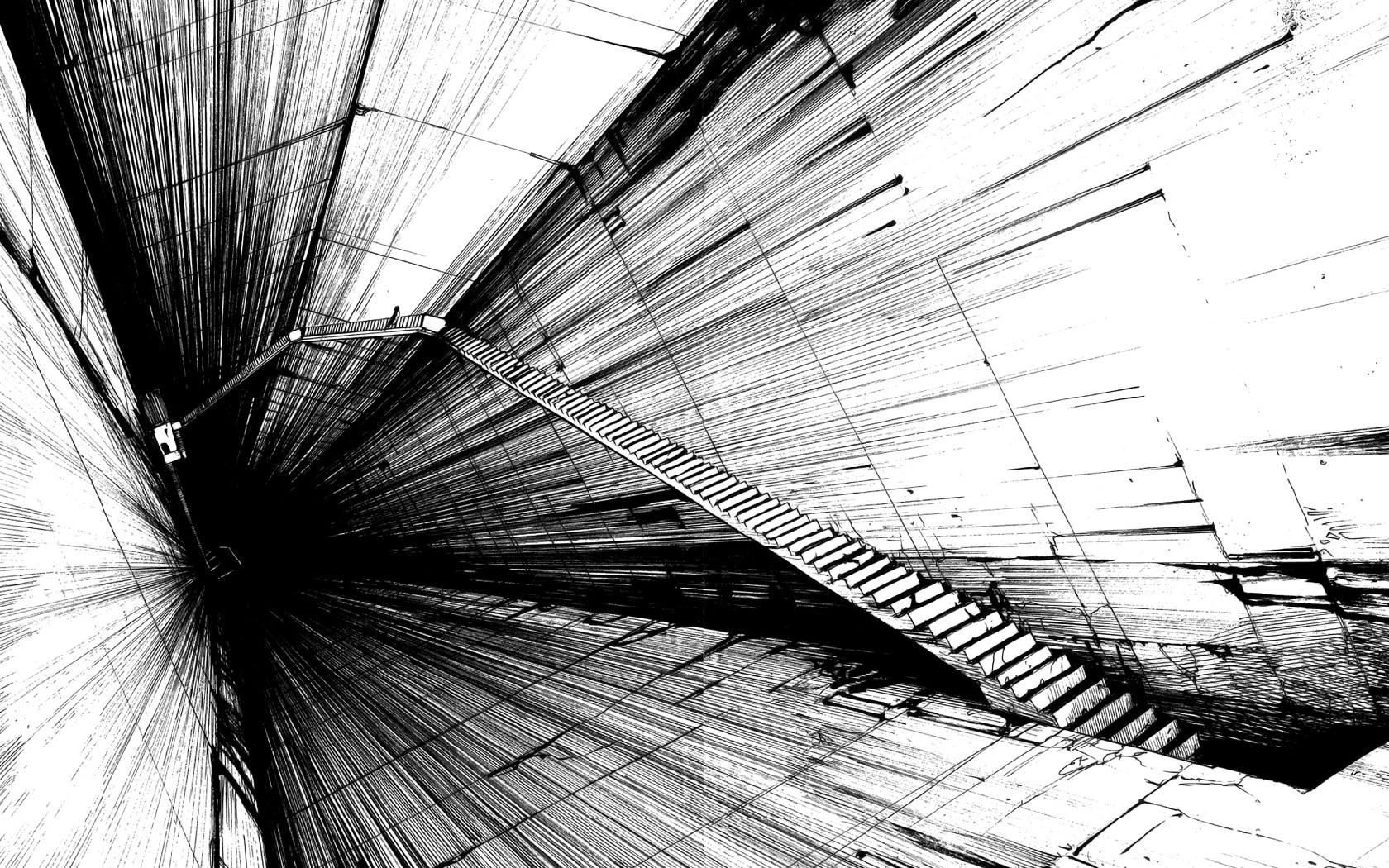 Black And White Abstract Art 18 Cool Wallpaper Hdblackwallpaper Com
